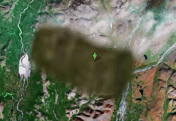 Интересные места в Google Earth с координатами и